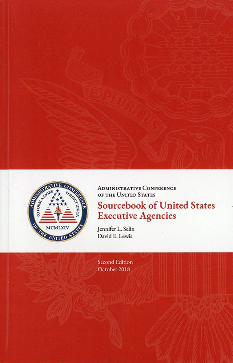 Sourcebook of United States Executive Agencies
