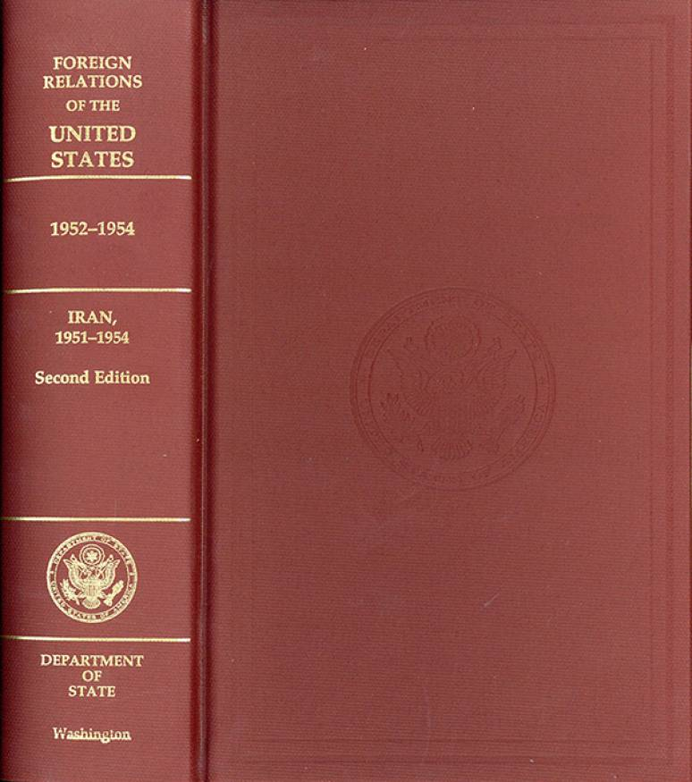 Foreign Relations of the United States, Iran 1951-1954