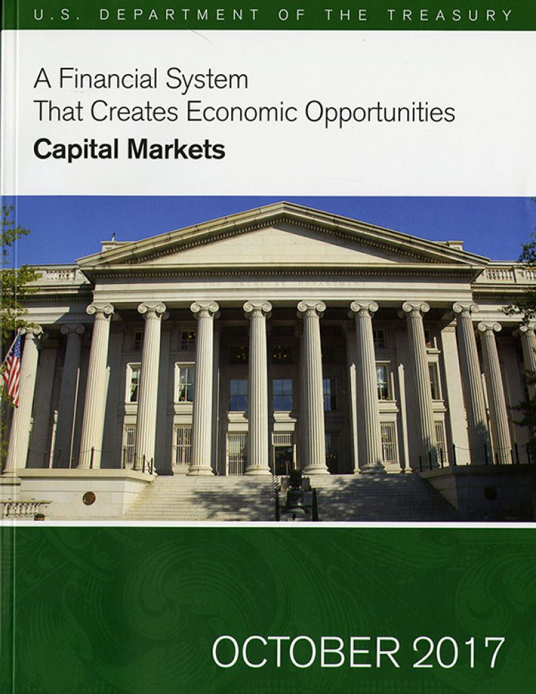 A Financial System That Creates Economic Opportunities-capital Markets