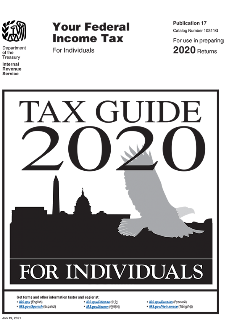 Your Federal Income Tax For Individuals (Publication 17), 2020