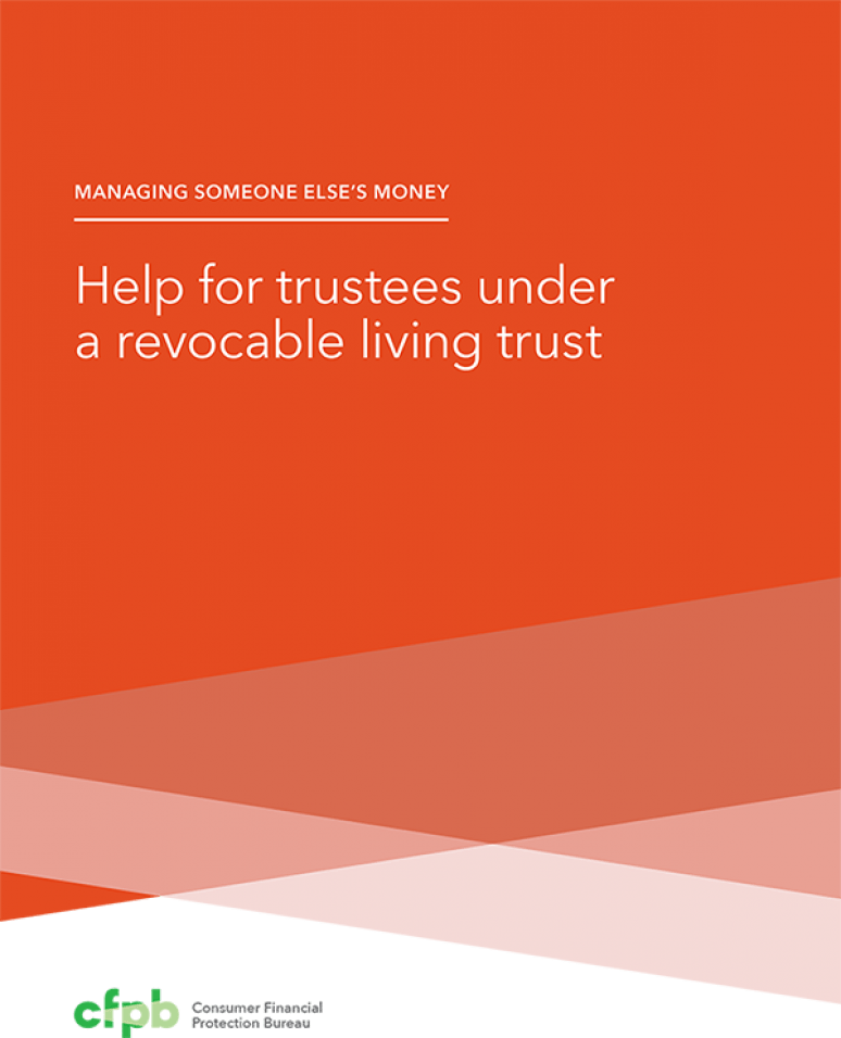 Help for Trustees Under a Revocable Living Trust