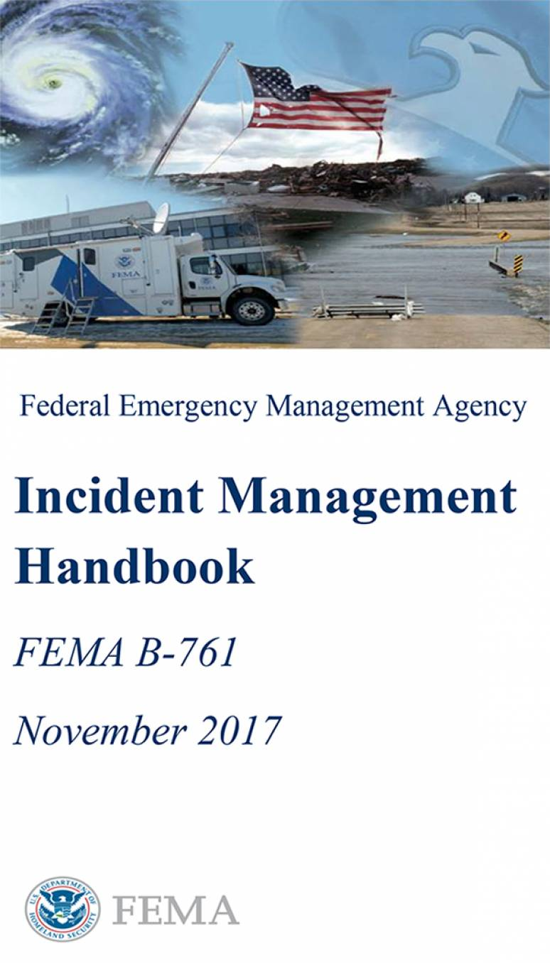 federal emergency management agency incident management handbook rh bookstore gpo gov Chilton Manual Ford Ford Manual Shift
