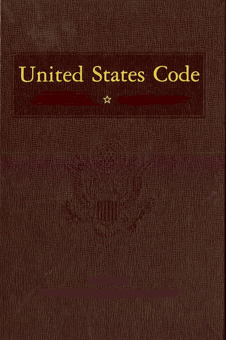 United States Code 2018 Edition Volume 1