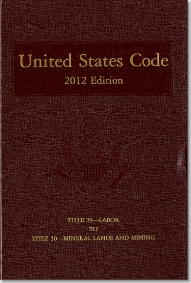 United States Code, 2012 Edition, V. 22, Title 29, Labor, to Title 30, Mineral Lands and Mining
