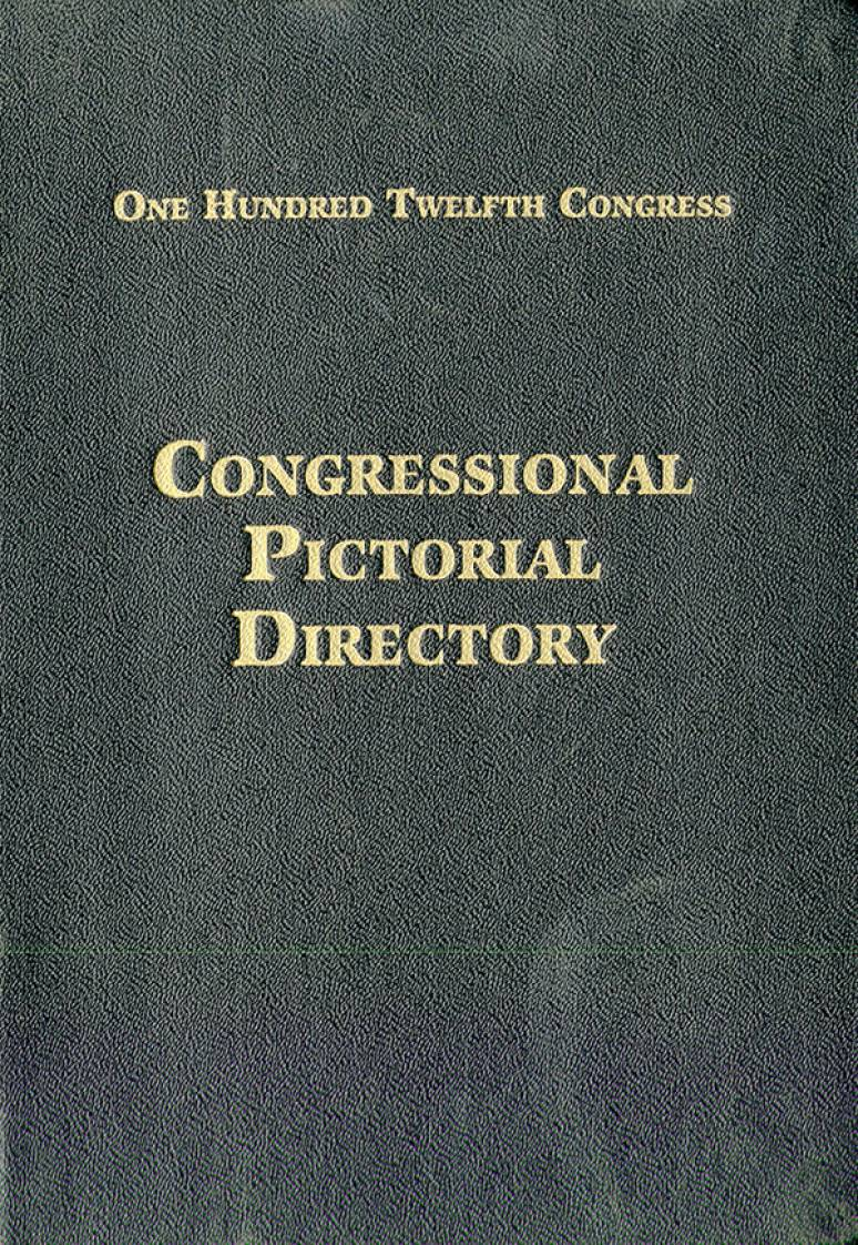 Official Congressional Directory, 112th Congress, 2011-2012 (Hardcover)