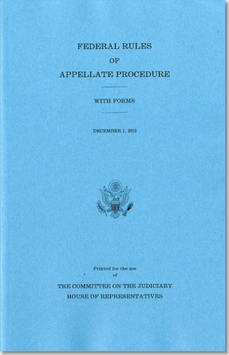 Federal Rules of Appellate Procedure, With Forms, December ...