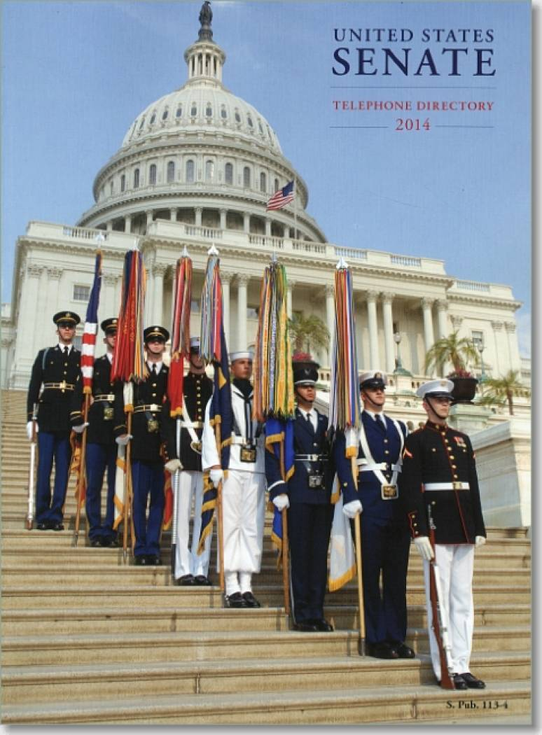 United States Senate Telephone Directory 2014