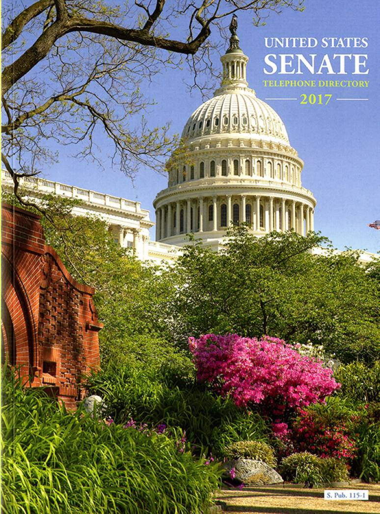 United States Senate Telephone Directory 2017