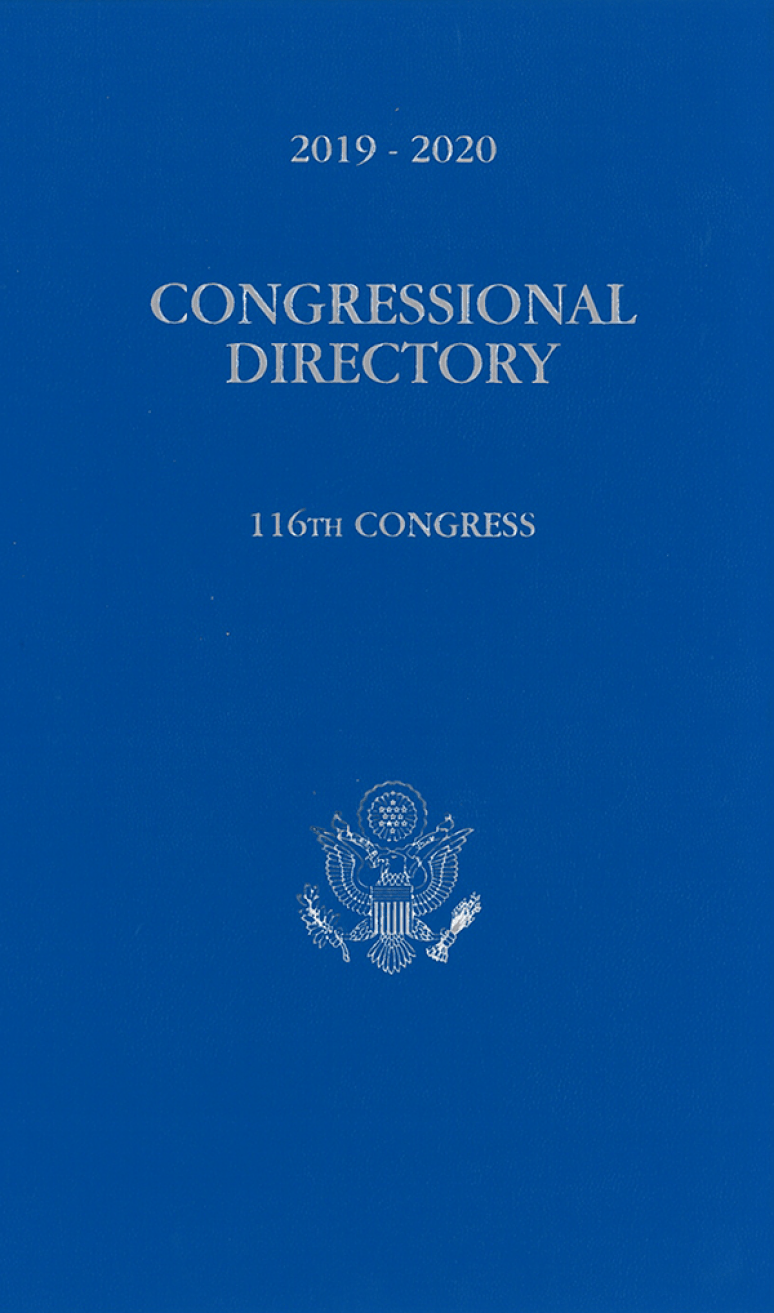 Official Congressional Directory 116th Congress 2019-2020 (Hardcover)