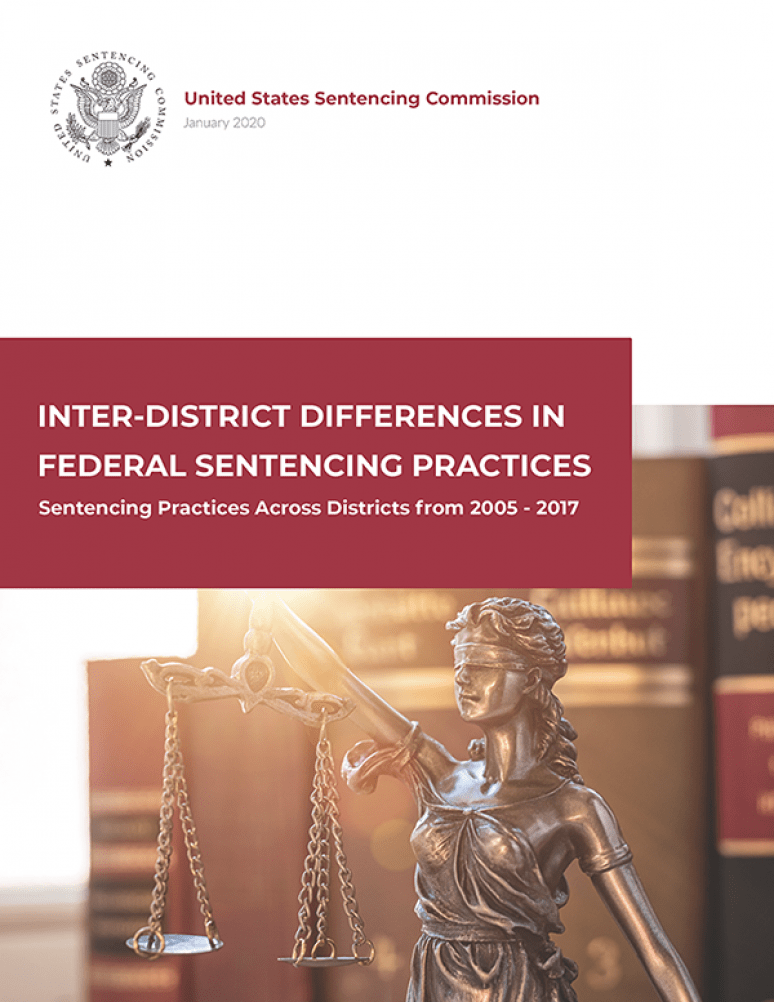 Inter-District Differences In Federal Sentencing Practices Sentencing Practices Across Districts from 2005-2017