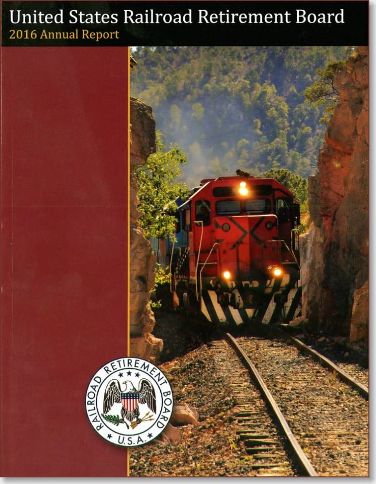 United States Railroad Retirement Board 2016 Annual Report for Fiscal Year Ended September 30, 2015
