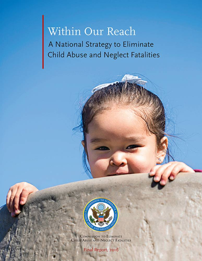 within our reach  a national strategy to eliminate child