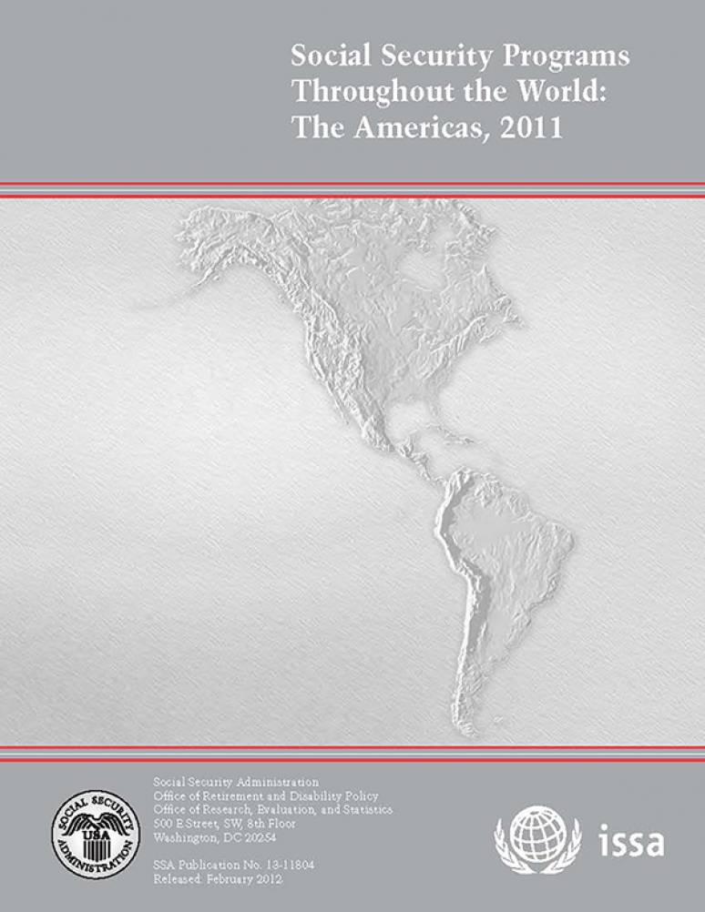 Social Security Programs Throughout The World: The Americas, 2011 (ePub eBook)