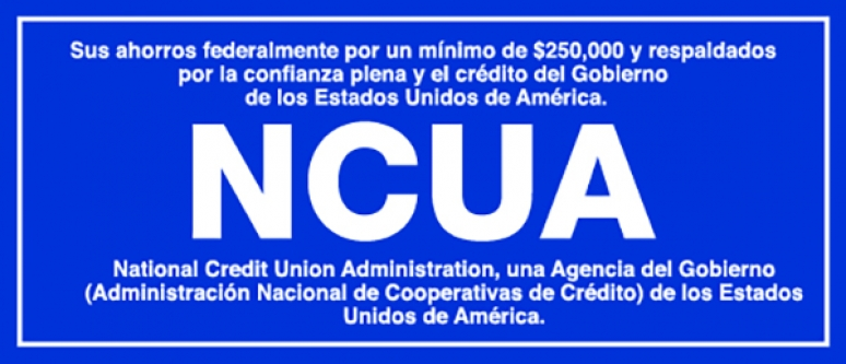 NCUA Insurance Signs (Spanish)