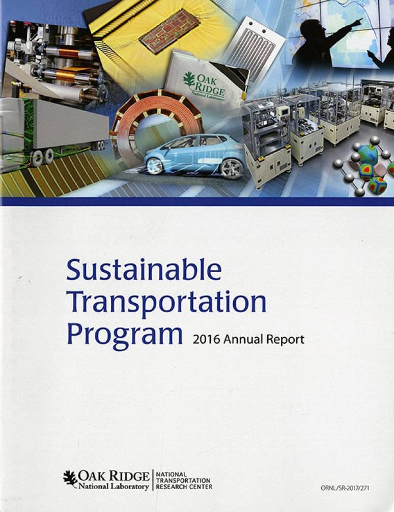 Sustainable Transportation Program 2016 Annual Report