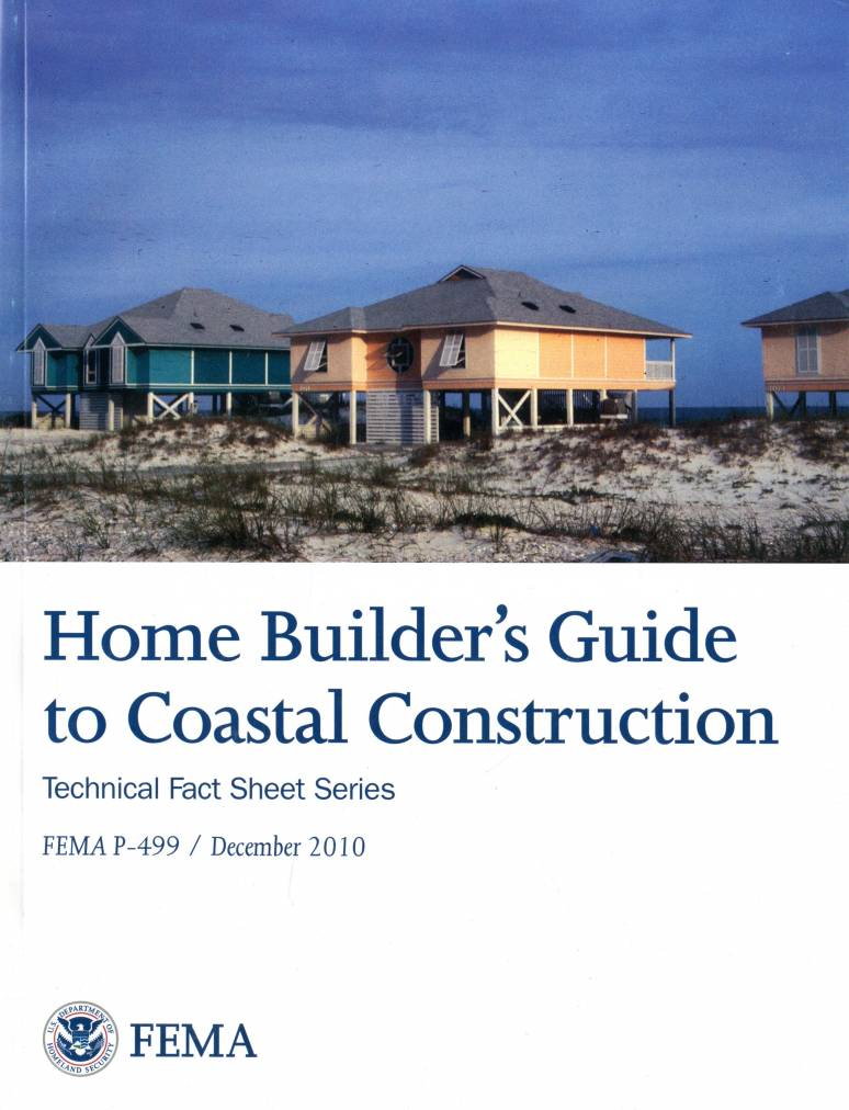 Home builder 39 s guide to coastal construction u s for Home building guide