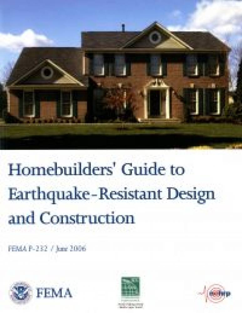 Homebuilders' Guide to Earthquake-Resistant Design and Construction (ePub eBook)