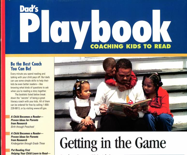 Dad's Play Book: Coaching Kids to Read