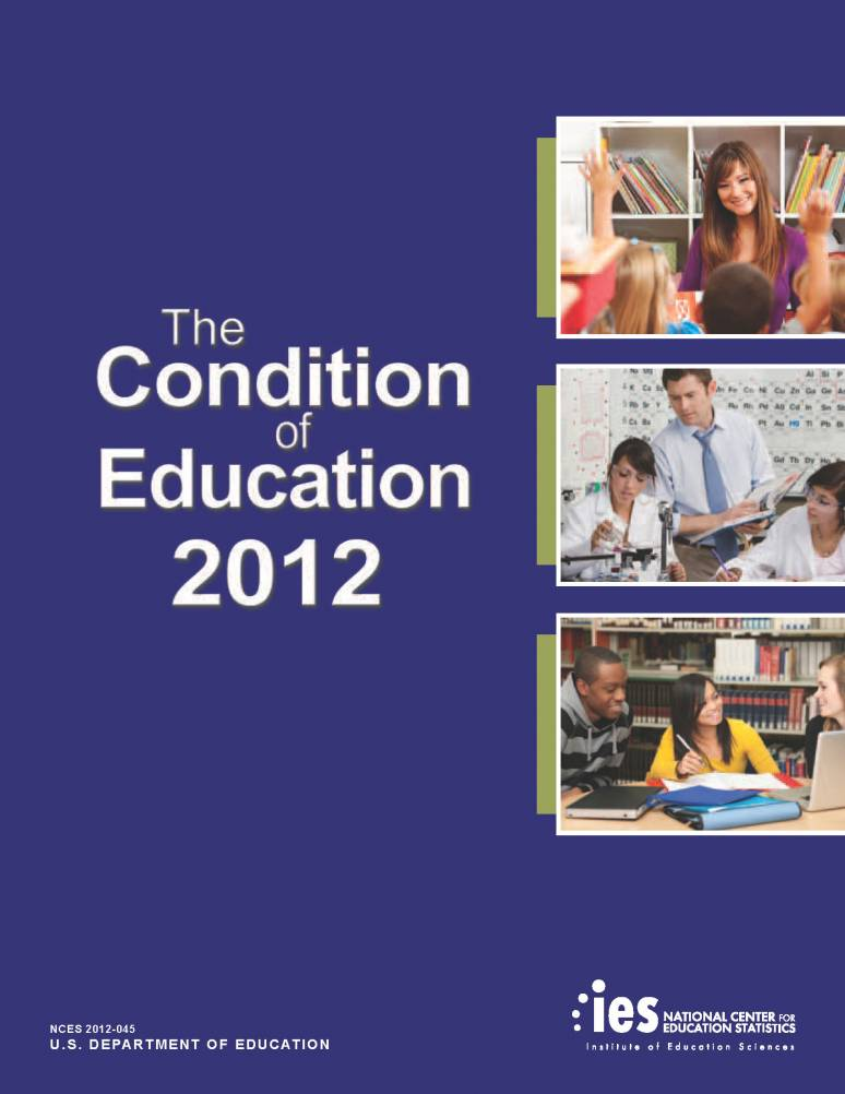 The Condition of Education 2012