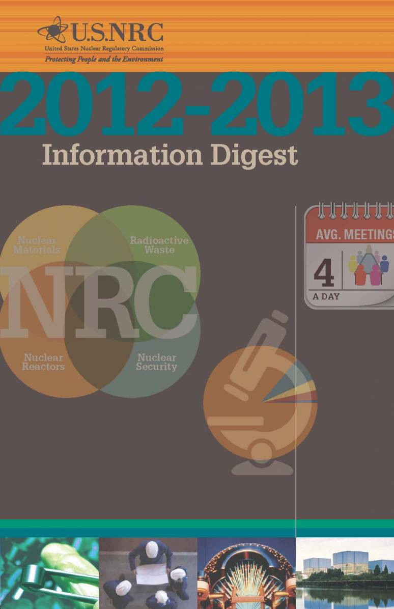 United States Nuclear Regulatory Commission Information Digest 2012-2013 (ePub eBook)