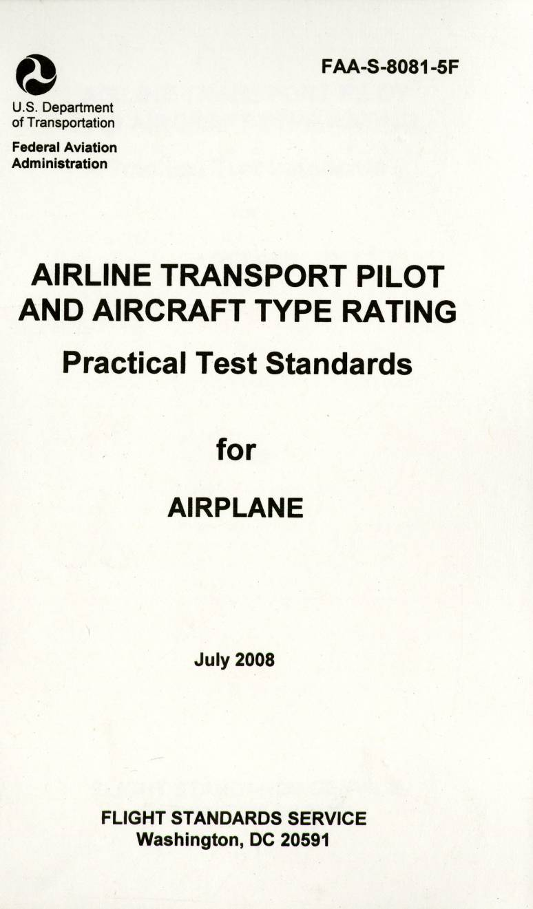 Airline Transport Pilot and Aircraft Type Rating ... - photo#6