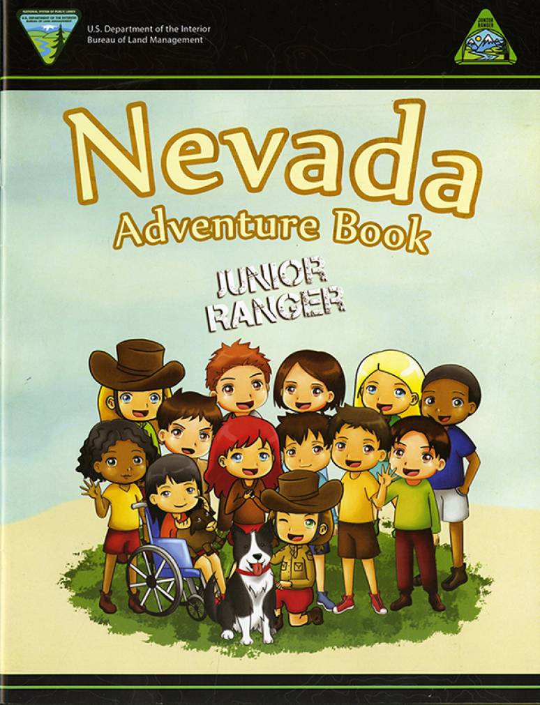 Nevada Adventure Book: Junior Ranger