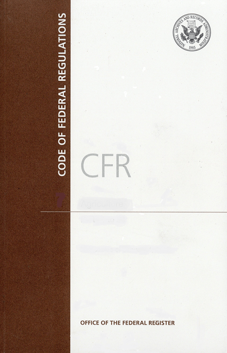 Cfr T 50 Pt 17 (17.96-17.98); Code Of Federal Regulations(paper)2019   (cover Only)