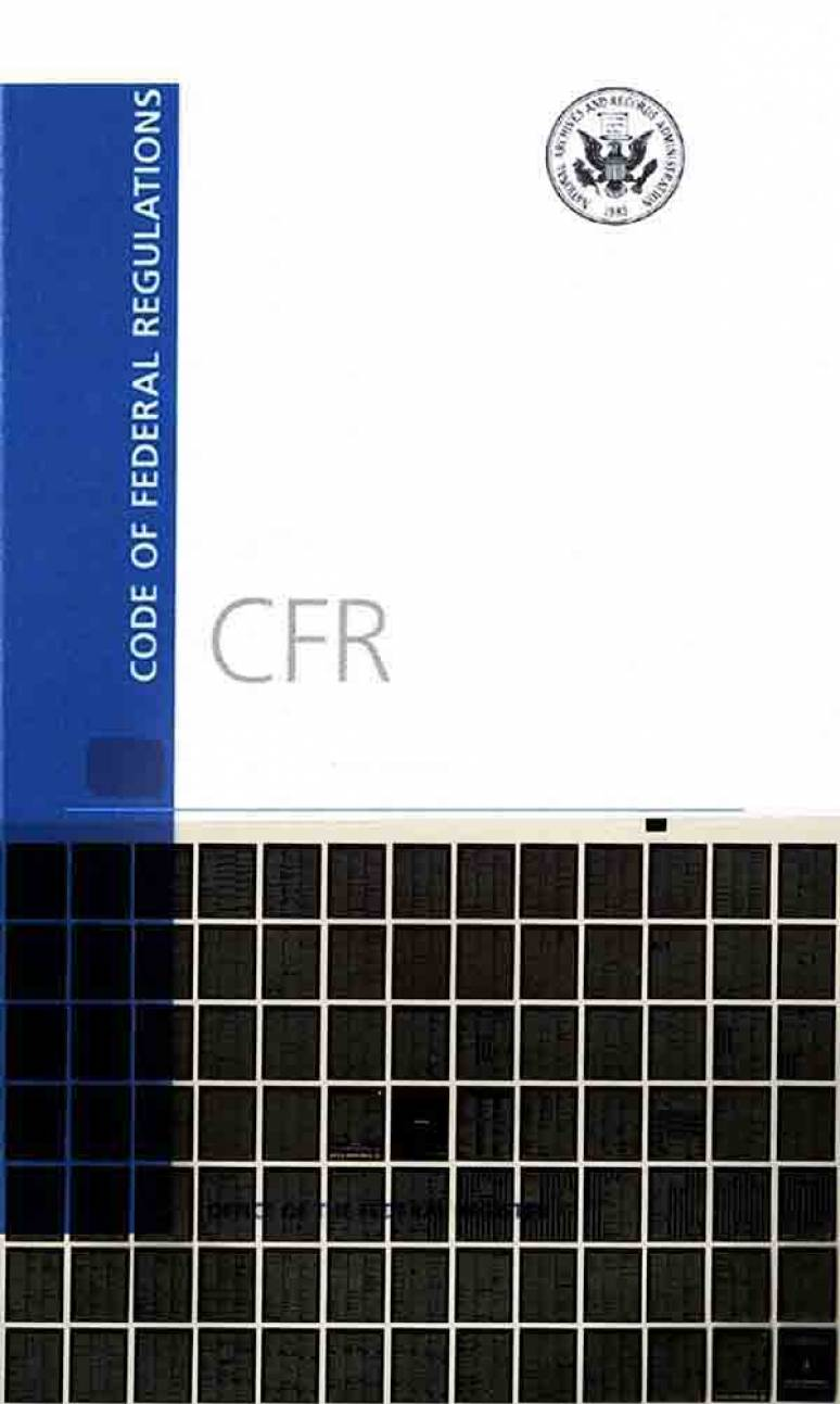Code of Federal Regulations, List of CFR Sections Affected, December 2016 (Microfiche)