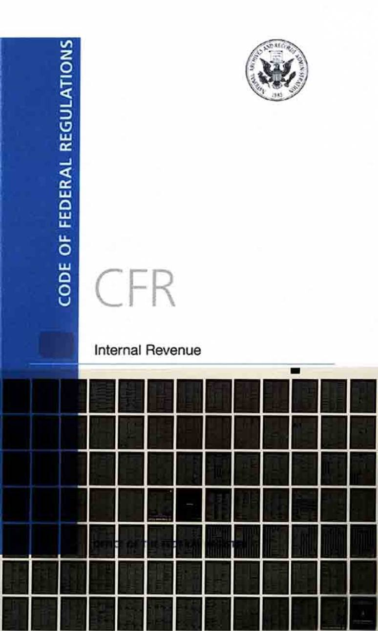 T 41  Chapters 102-200; Code Of Federal Regulation-microfiche 2016