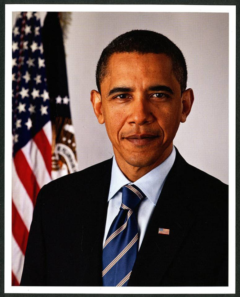 Official Presidential Portrait of Barack Obama (11x14)