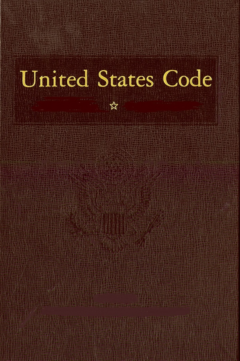 United States Code, 2018 Edition, Volume 37, Popular Names and Tables, Revised Titles, Revised Statutes 1878, and Statutes at Large(1789-1972)