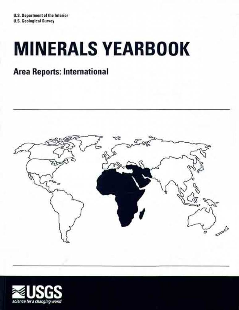 Minerals Yearbook, 2012, V. 3, Area Reports, International: Asia and the Pacific