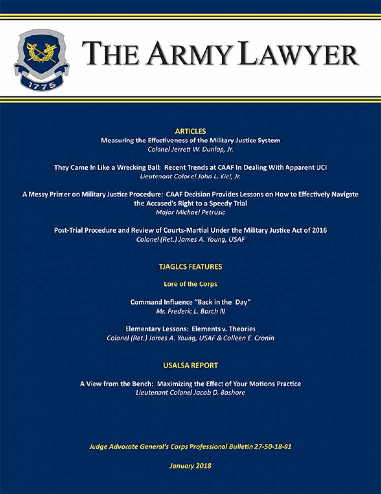 Army Lawyer