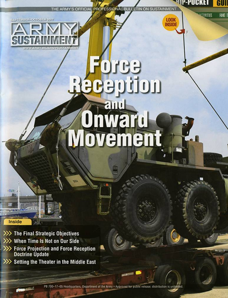 Army Sustainment (formerly Army Logistician); V.49 #5 Sept.-oct 2017