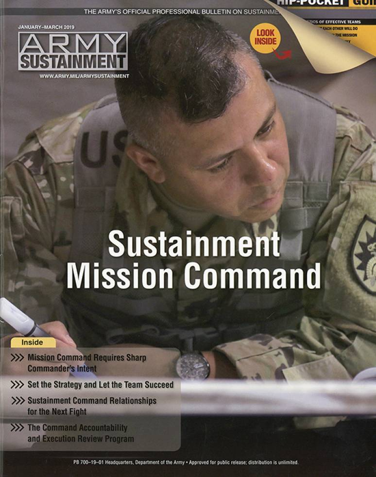V.51 #1 Jan.- March 2019; Army Sustainment (formerly Army Logistician)