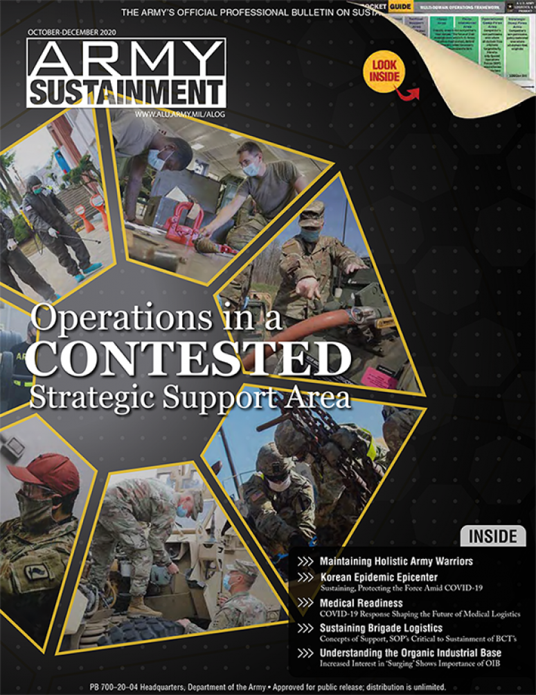 V.52 #4 Oct.-dec.2020; Army Sustainment (formerly Army Logistician)