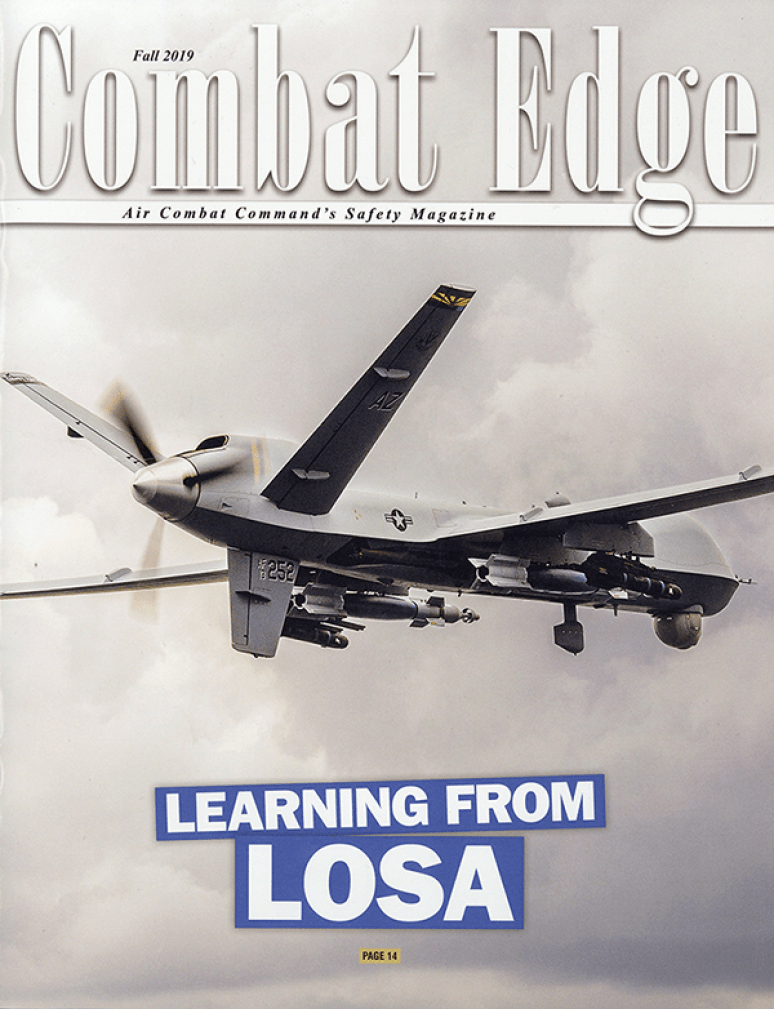 V.27 #3 Fall 2019; The Combat Edge (formerly Tac Attack)