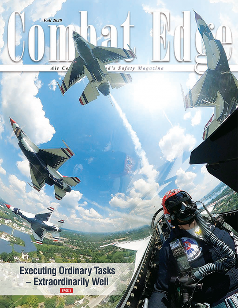 V.28 #4 Fall 2020; The Combat Edge (formerly Tac Attack)