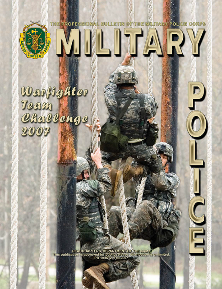 Military Police: The Professional Bulletin
