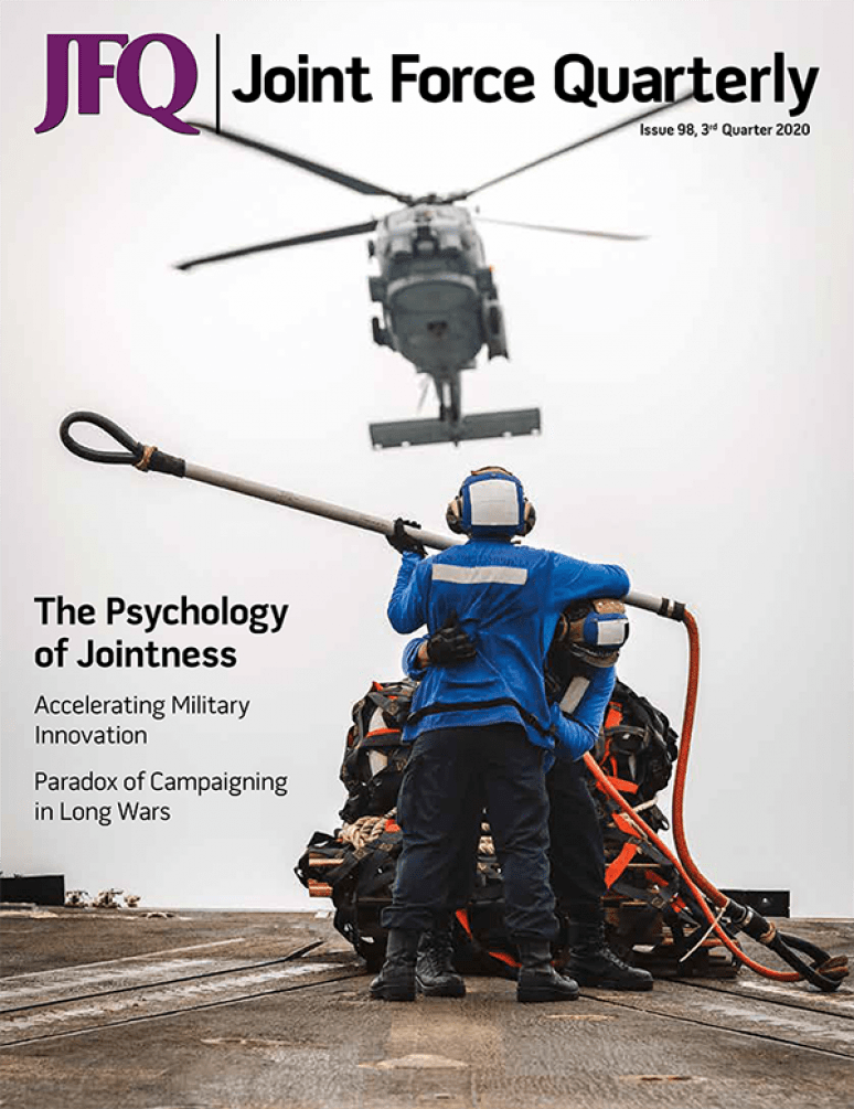 Issue 98 3rd Quarter; Jfq:  Joint Force Quarterly