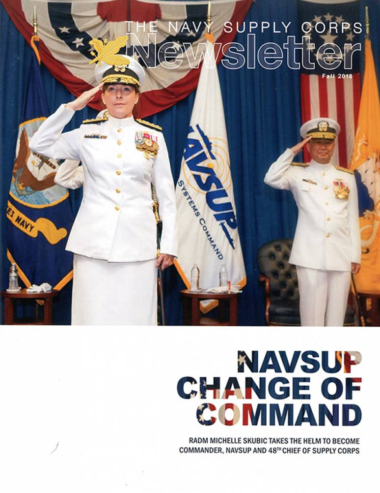 Fall 2018; Navy Supply Corps Newsletter