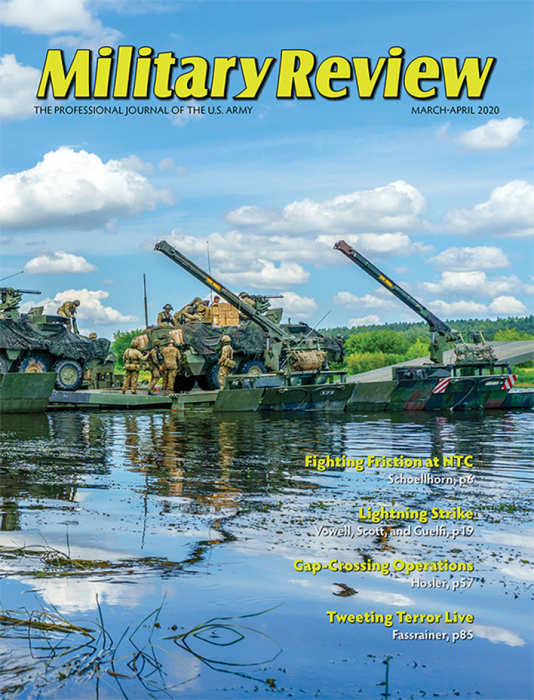July/Aug 2020; Military Review