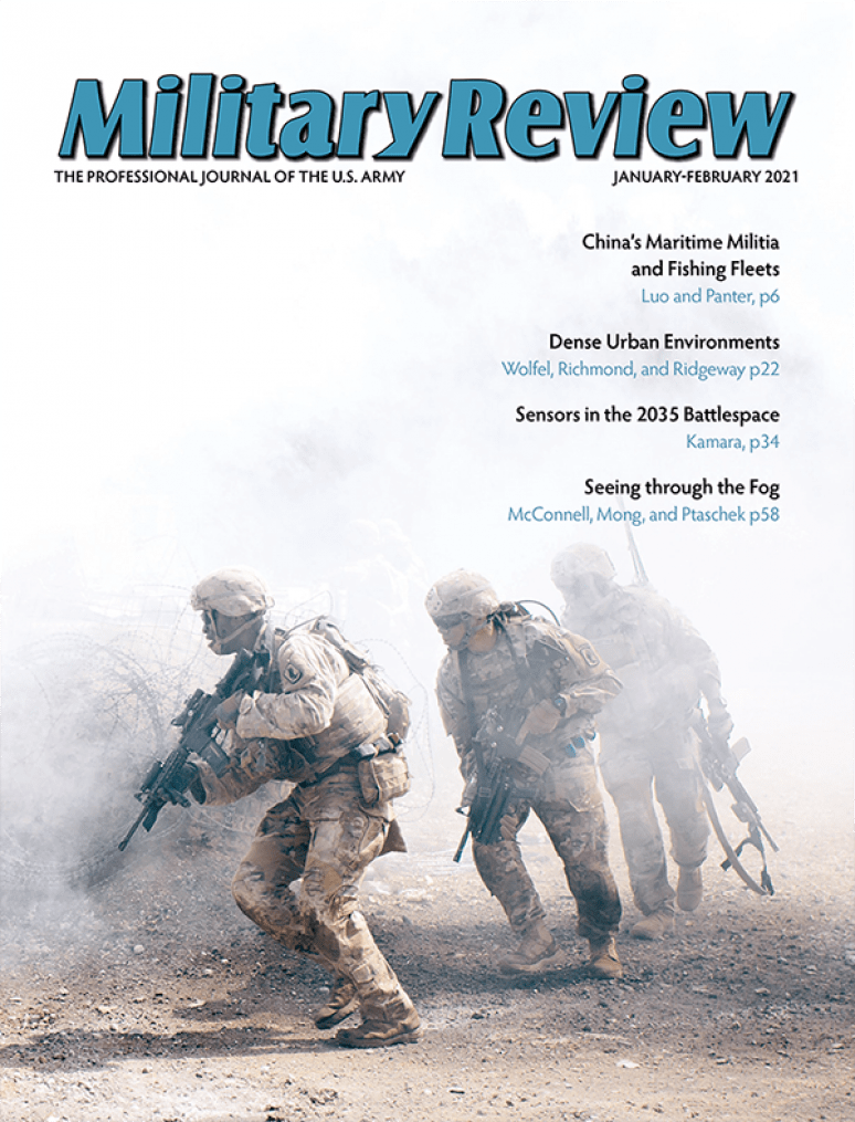 Volume 101 Issue #1; Military Review