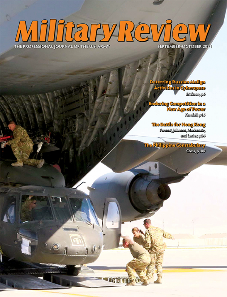 Sept-oct 2021; Military Review