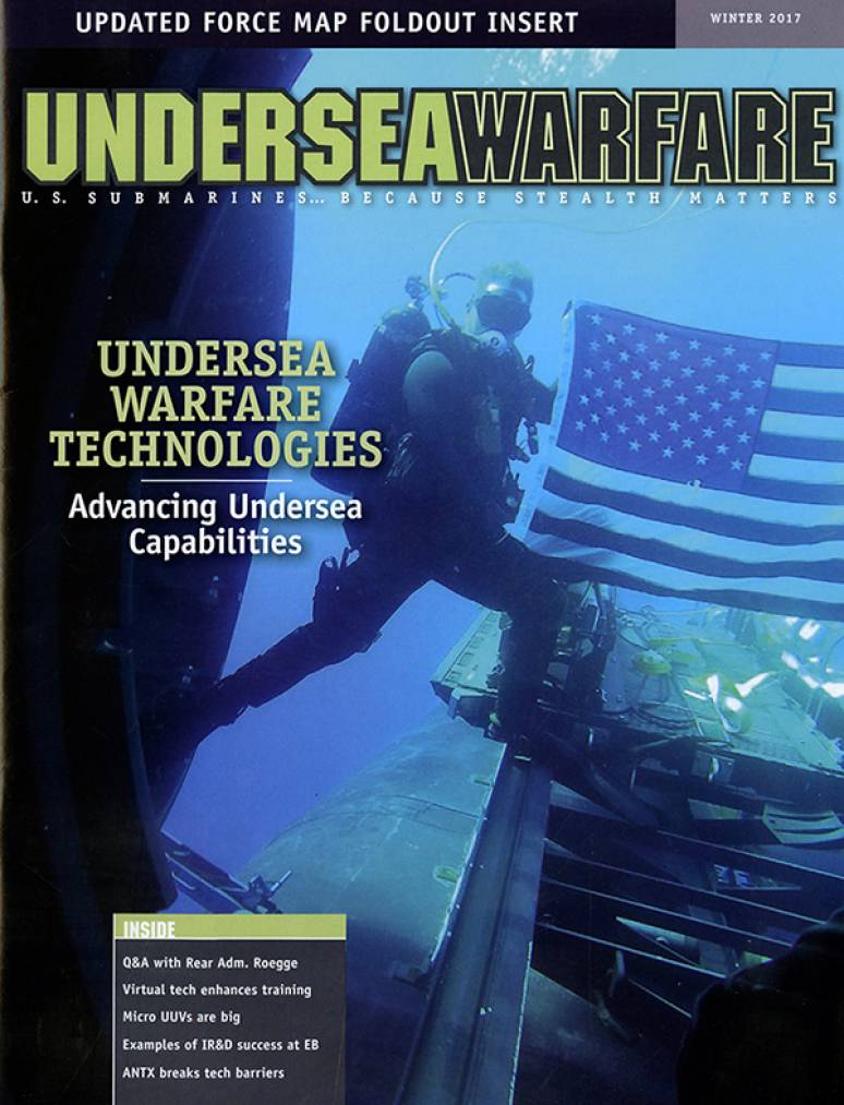 Undersea Warfare, No. 63, Winter 2017
