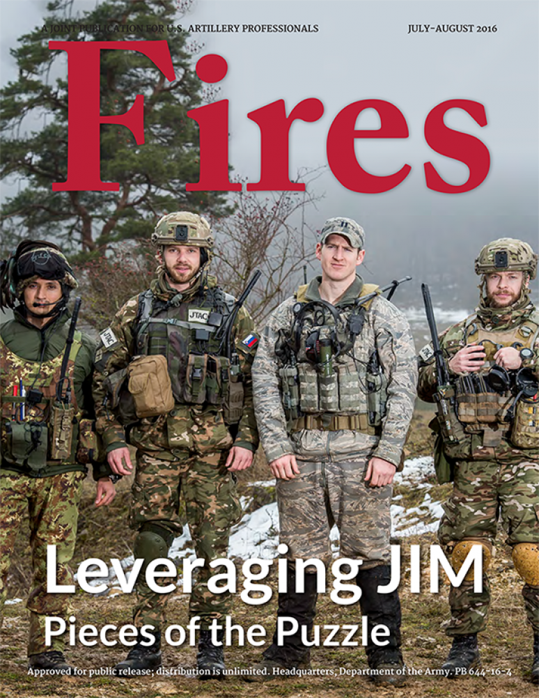 Fires: A Joint Professional Bulletin for US Field and Air Defense Artillerymen