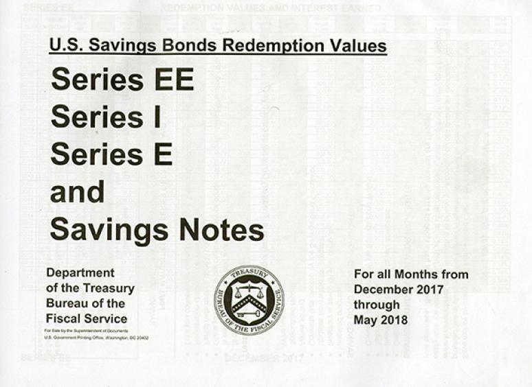 Dec.2020-may 2021; U. S. Savings Bond Redemption Values Series Ee Series I Series E      And Savings Notes