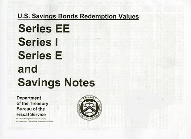 Dec.18- May 2019; U. S. Savings Bond Redemption Values Series Ee Series I Series E      And Savings Notes