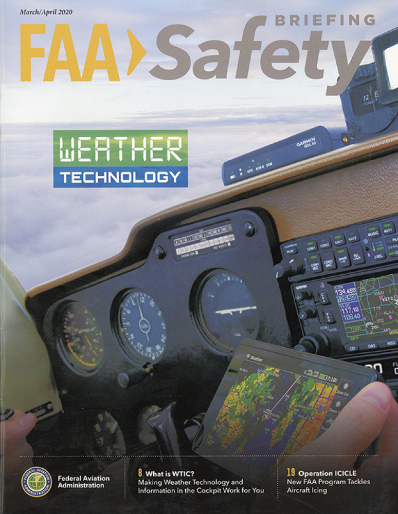 March/April 2020; FAA Safety Briefing