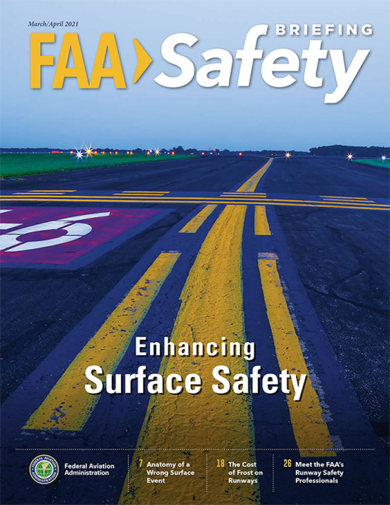 March-april 2021; Faa Safety Briefing